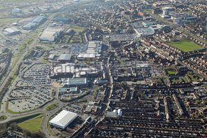 Aerial View of Widnes